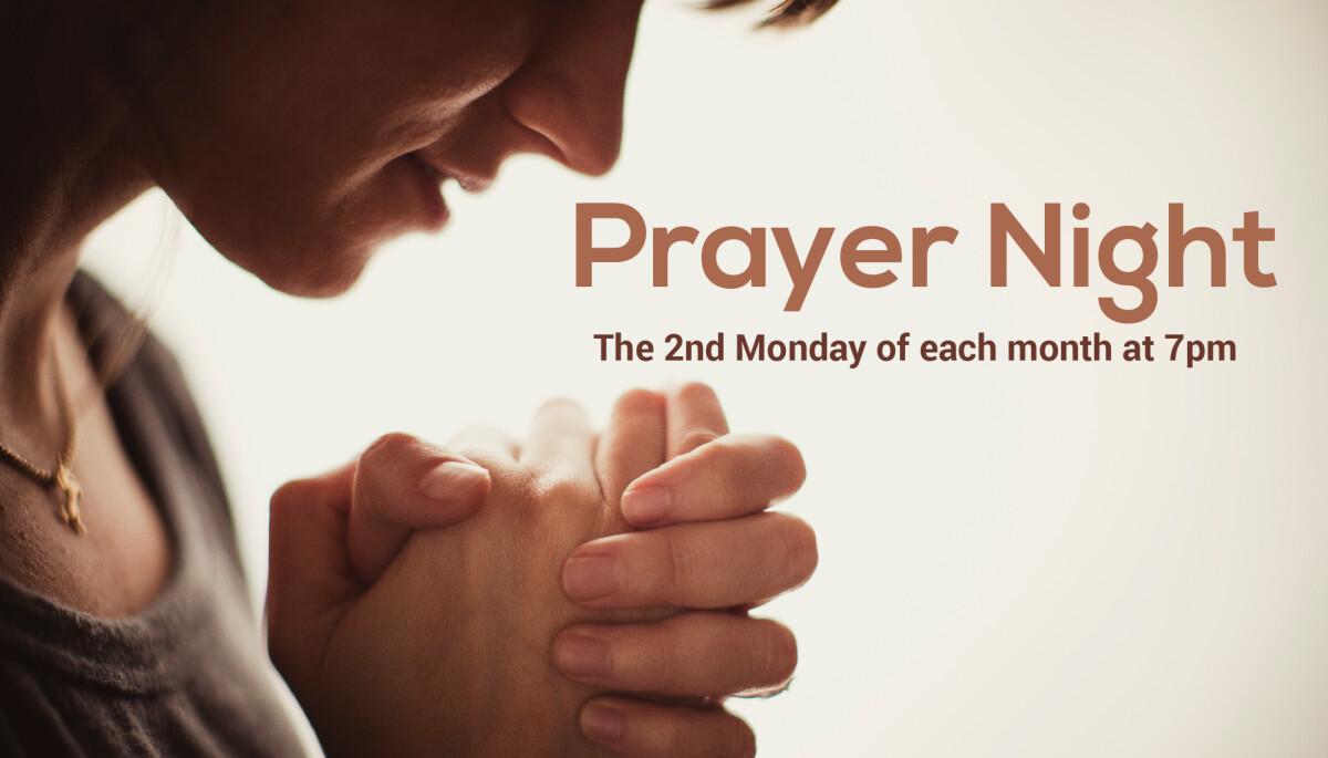 An Evening of Prayer
